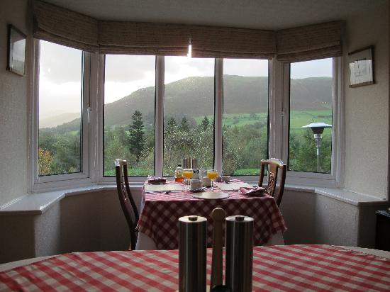 Ellas Crag Guest House : Breathtaking view from breakfast room