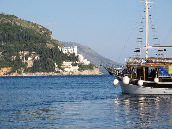 House Katarina - Old town: Approach to Dubrovnik from the water