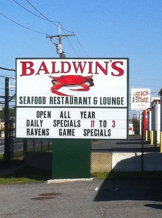 Baldwin Seafood Restaurant In Joppa Md