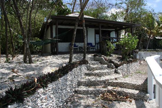 Hideaway Island Resort & Marine Sanctuary: Front of bungalow 5