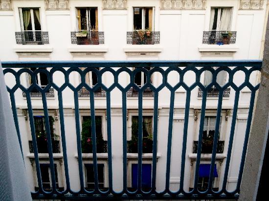 Hôtel Elysées Opéra: balcon