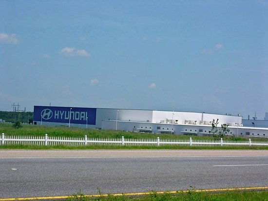 Hyundai Montgomery Al >> Hyundai Manufacturing Plant In Montgomery Alabama Picture Of