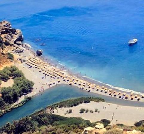 Plakias, Greece: the beach