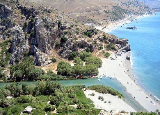 Plakias, Grekland: the beach
