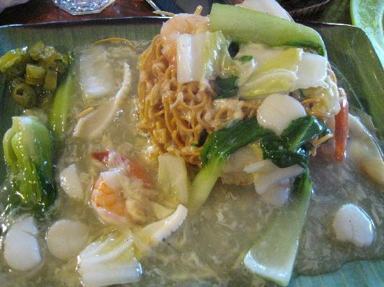 Chillipadi Mamak Kopitiam: Crispy Noodles