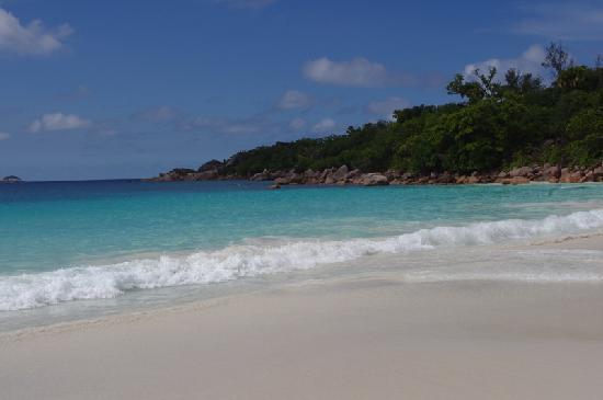 เกาะพราสลิน, เซเชลส์: Anse Lazio