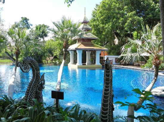 The Dhara Dhevi Chiang Mai: One of the fabulous pools