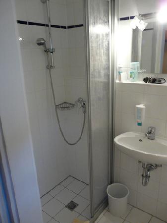 Hotel Goldene Sonne: shower