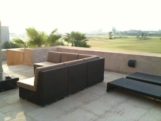 Villa Malekis: terrasse au 1er étage