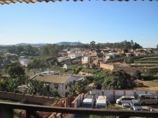 Island Continent Hotel: vue du balcon