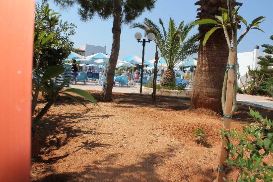 Nana Beach Hotel: Vue de notre chambre