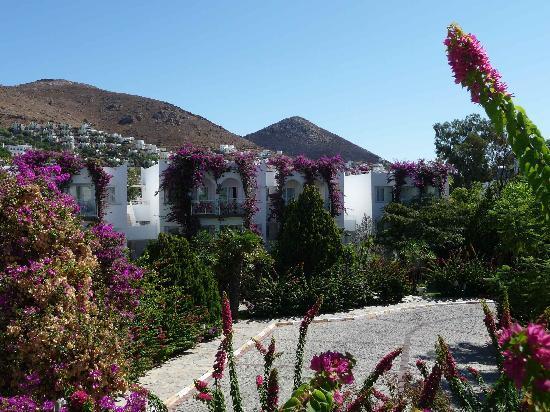 Kadikale Resort: Chambre Blanche vue batiment principal