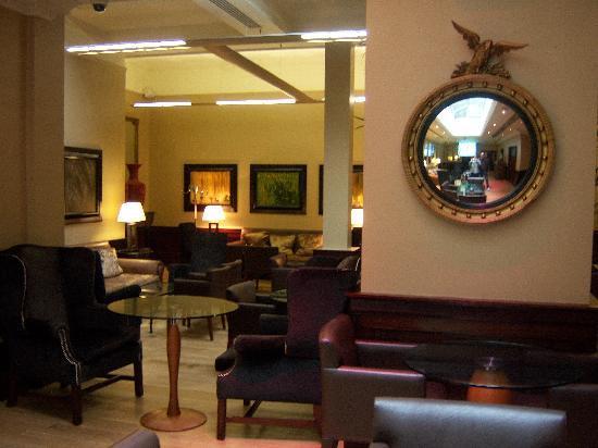 deco hall entrée - Picture of Radisson Blu Edwardian Grafton Hotel ...