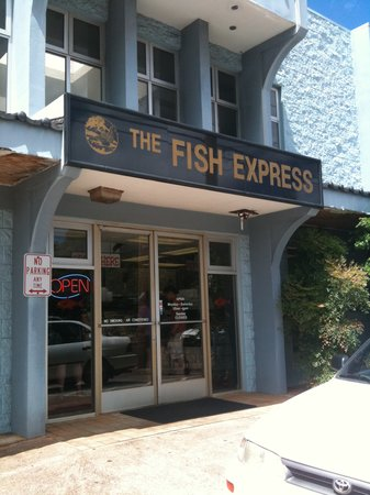 The Fish Express : お店外観