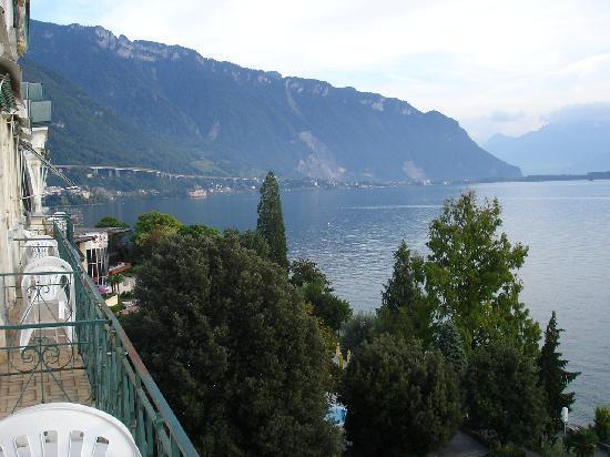 Eden Palace au Lac: Ausblick vom Balkon
