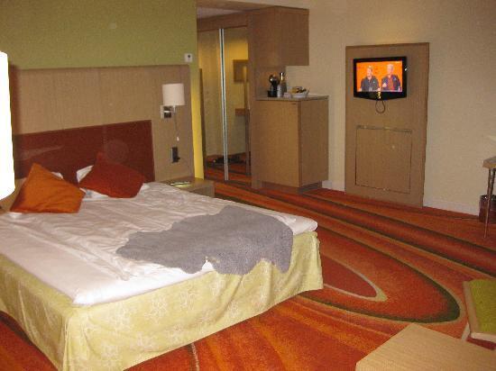 Radisson Blu Hotel, Tromso: We where upgraded to business room.