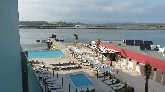 Agua Hotels Riverside: Vue de notre balcon