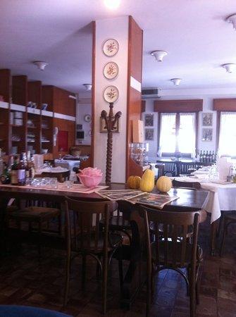 Antica Trattoria Belletti: la sala interna