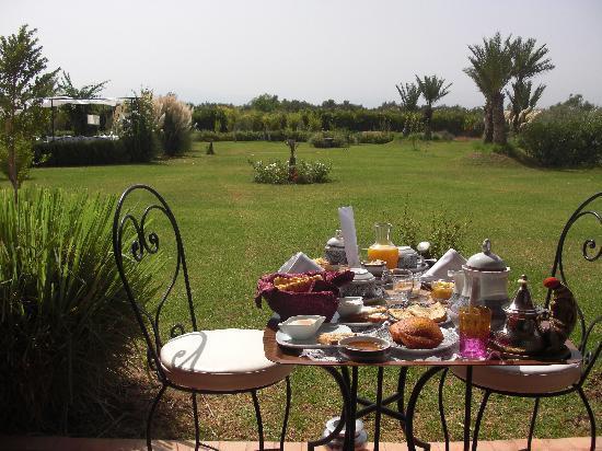 Riad Al Mendili Kasbah: Petit dejeuner.