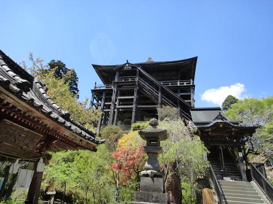 Kasamori-ji Temple: 笠森寺の観音堂