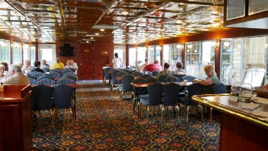 The Lake Queen: main deck