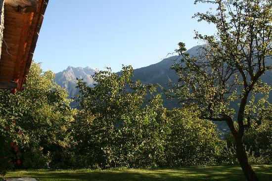 Grand Saint Bernard : A small view from the garden (much more to see)