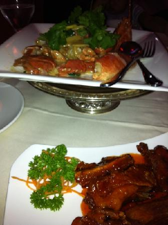 Tuli Oriental Buffet: lobster