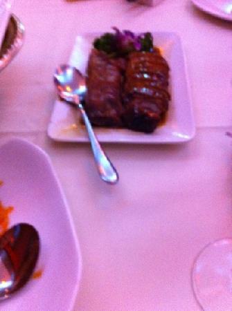 Tuli Oriental Buffet: duck and pork