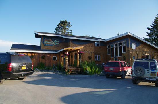 Homer Inn & Spa: L'extérieur