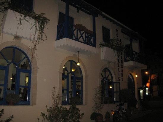 Moustakallis Tavern: The front of the restaurant