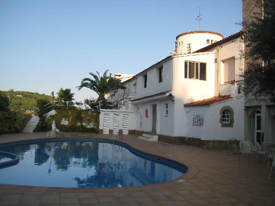 Sant Pol de Mar, Spain: Hotellet