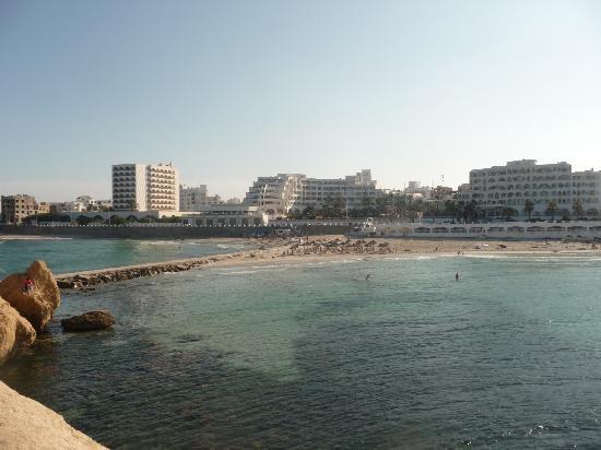 Monastir Center Hotel: strand