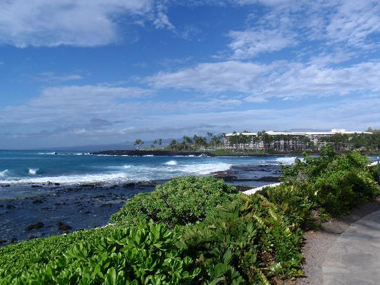 Hilton Waikoloa Village: The beautiful coast off the hotel