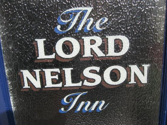 The Lord Nelson: Bar door