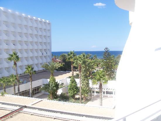Sahara Beach Aquapark Resort: view from our balcony.