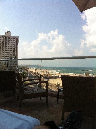 Dan Tel Aviv Hotel: Always able to see the sea