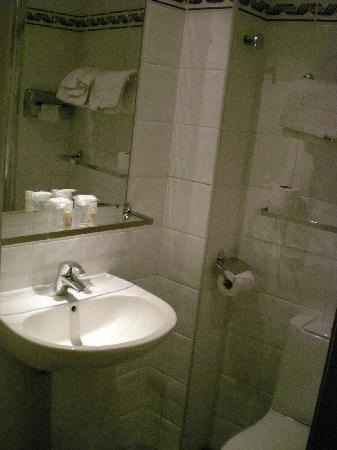 Hotel Miramar: Shower room