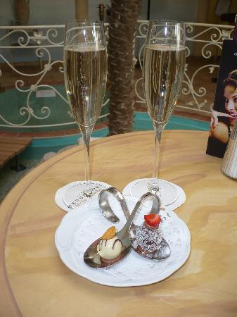 Hotel Bergergut : Begrüßung im Bergergut - schon das ist ein Traum