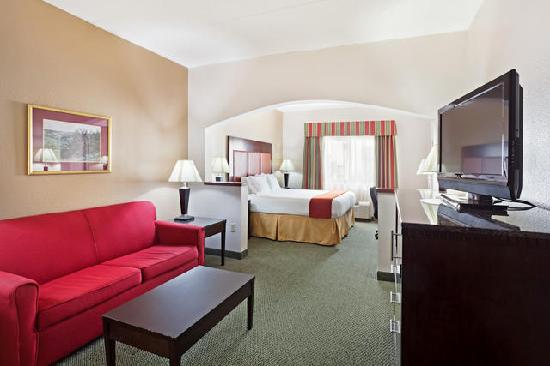Holiday Inn Express Louisville Northeast : King Suite