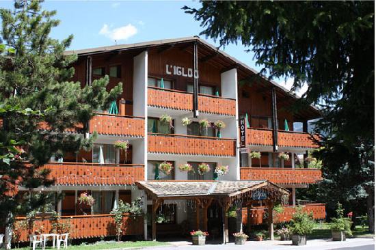 Hotel l'Igloo: hôtel 3 étoiles l'Igloo à Morzine - Eté