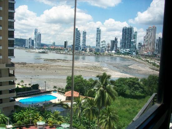 Plaza Paitilla Inn: Vista desde habitacion