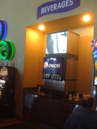 Chester, PA: Free self-serve beverages, only at Harrah's