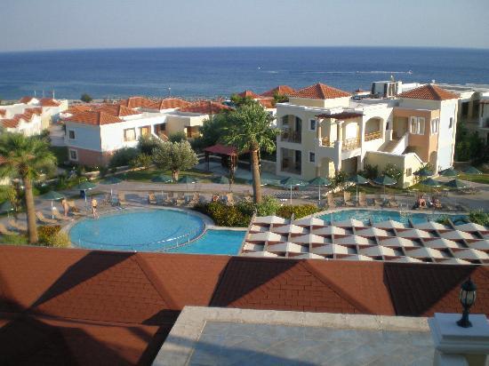Lindos Imperial Resort & Spa: Blick vom Zimmer