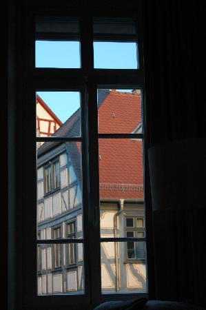 Merian Hotel: Blick aus Zimmer 11