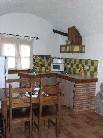 Cuevas Abuelo Jose: Cave kitchen