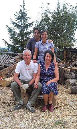 Agriturismo Le Castellare : A Very Wonderful Family