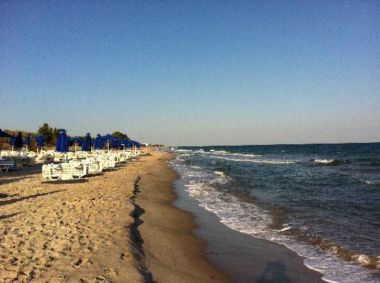 Caravia Beach Hotel: the beach