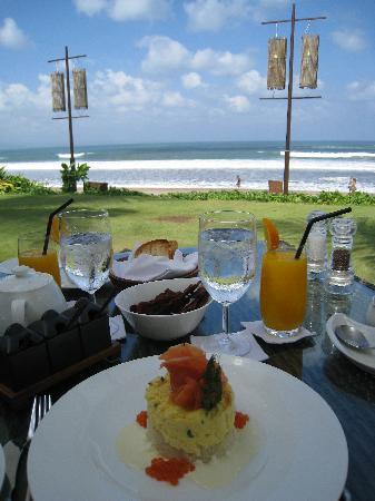 The Samaya Bali Seminyak: Petit-déjeuner au Breeze Restaurant