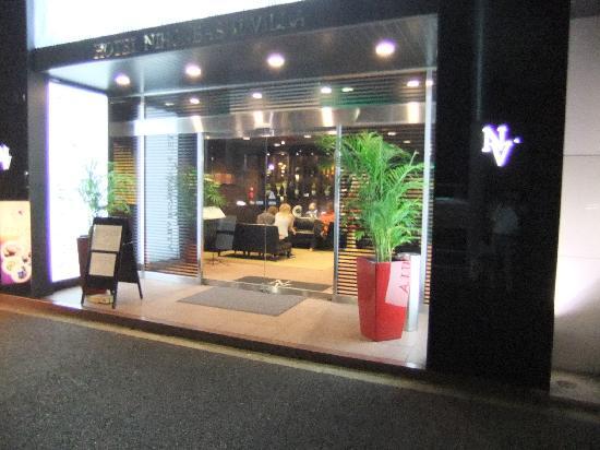 โรงแรมนิฮงบาชิ วิลล่า: 入口とロビー付近の様子