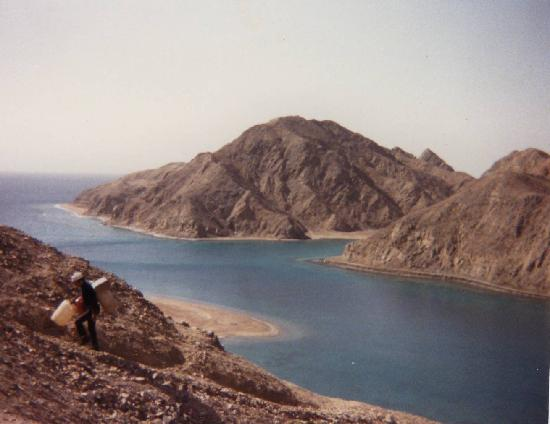 Дахаб, Египет: 10km south of Taba